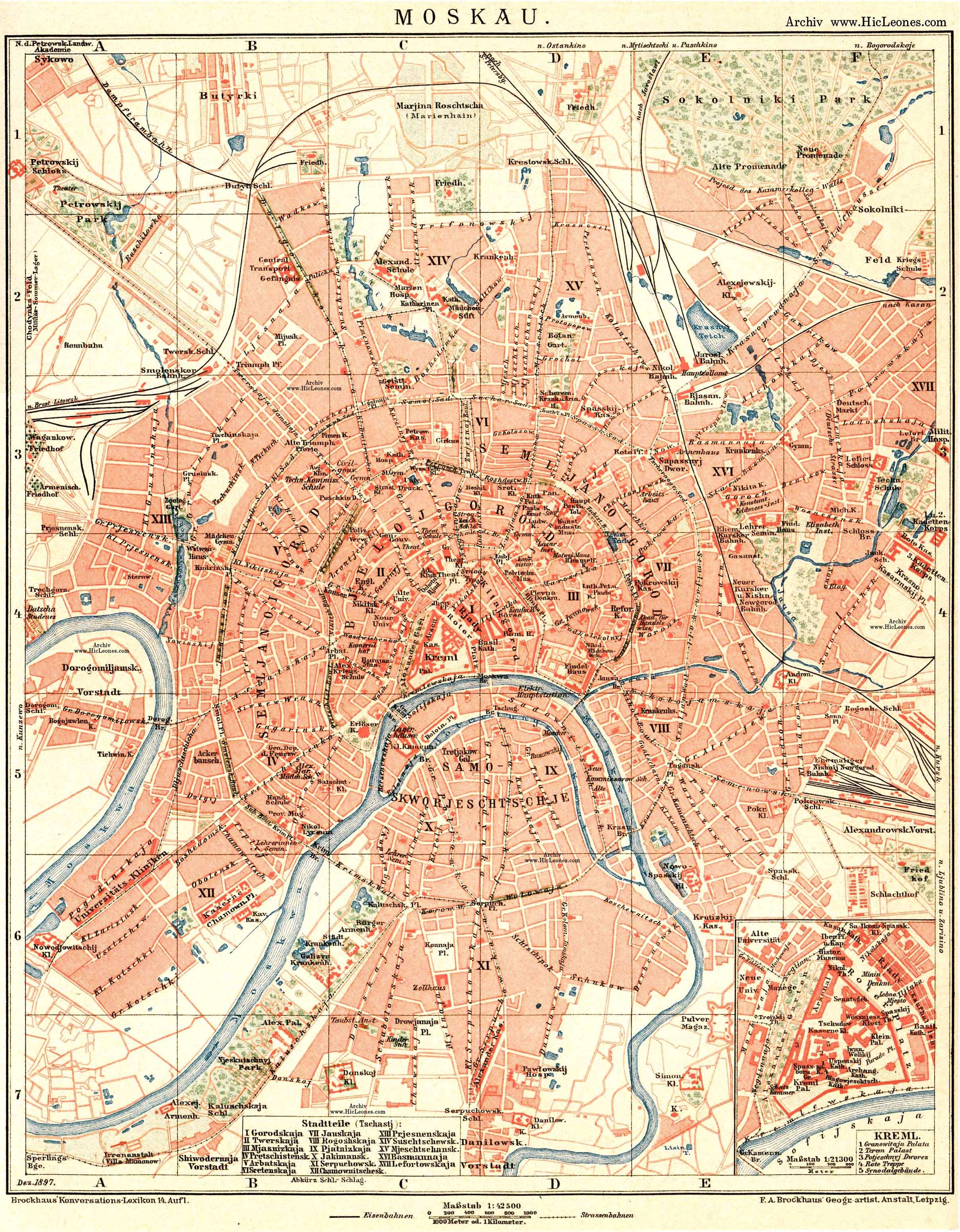 a German map of Moscow | Illustrated map, Map art, Map