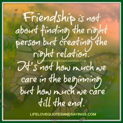 Finding Love Quotes And Sayings | ... The Right Relation.. | Love