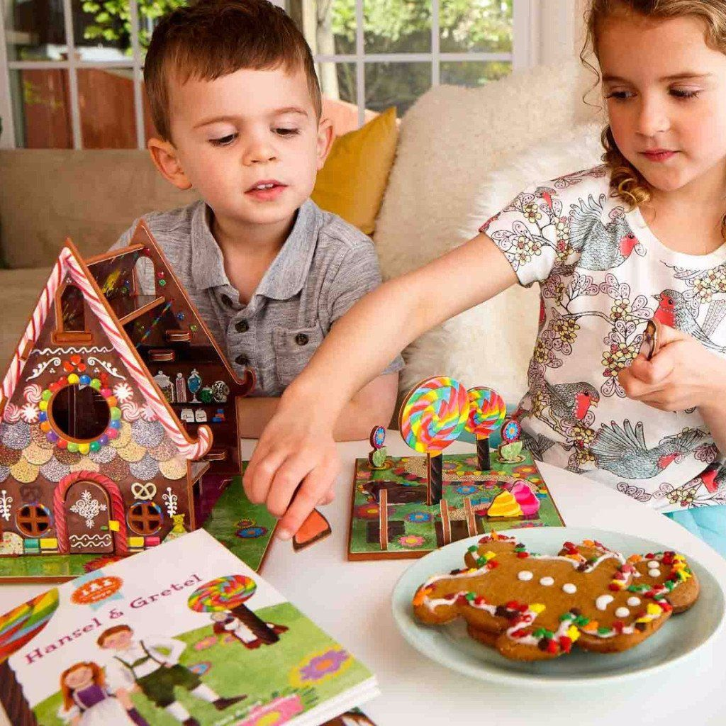 Hansel and Gretel Toy house, Crafts, Gingerbread man