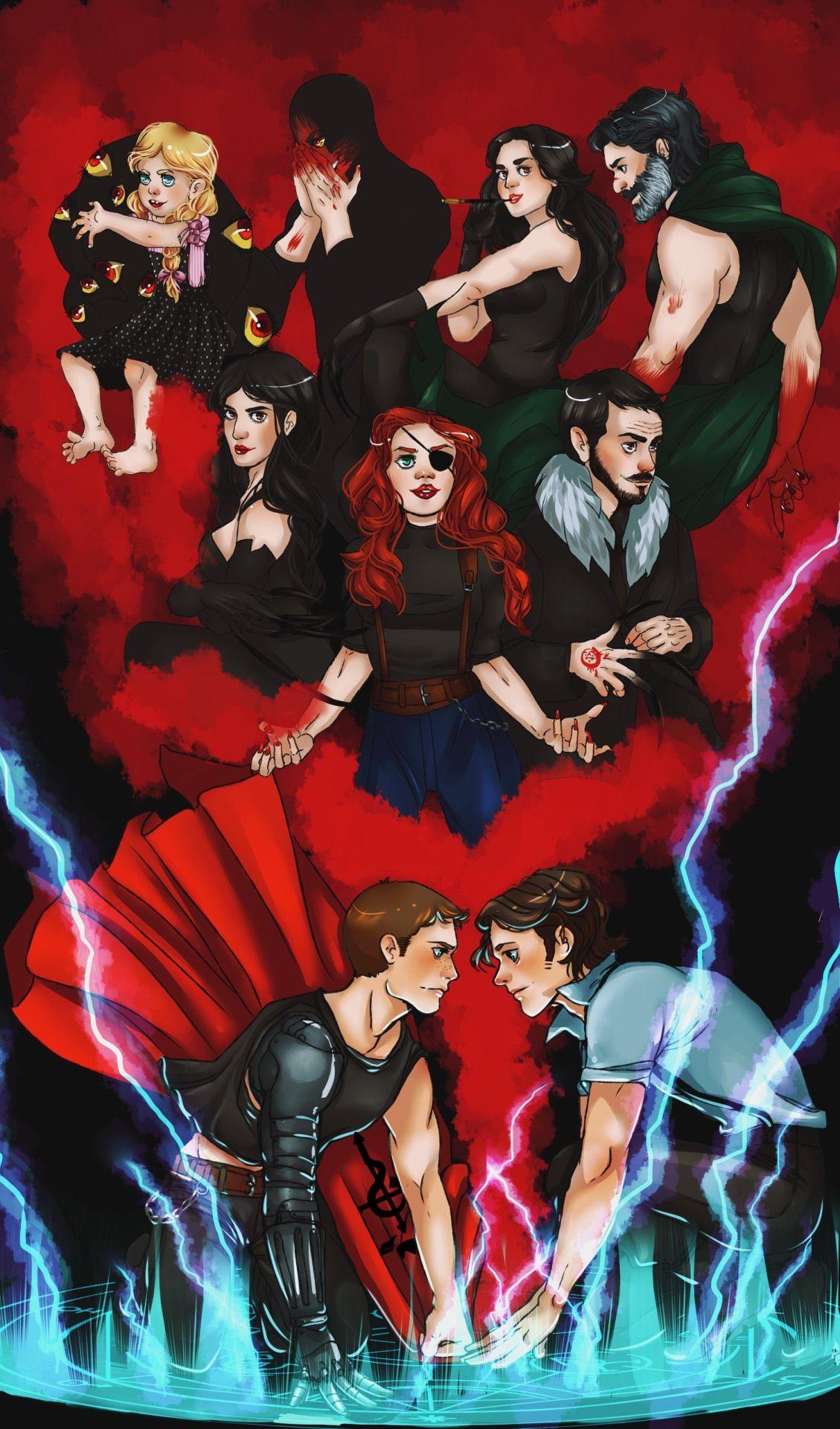 Supernatural x Fullmetal Alchemist...I always thought that