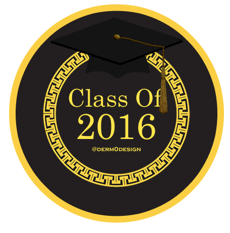 ثيمات التخرج 2016 موضة Versace Graduation Party Graduation Custom Plates