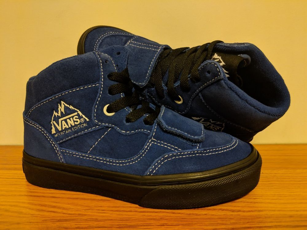 4fa09adee5fbc VANS New Mountain Edition Suede Youth Boy's Shoes Size USA 13 ...