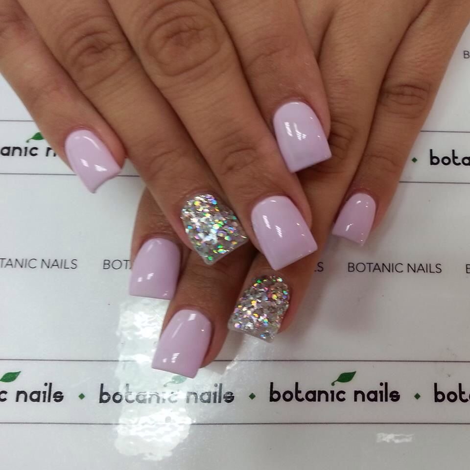 Light purple and silver | Nails | Pinterest | Nails ...