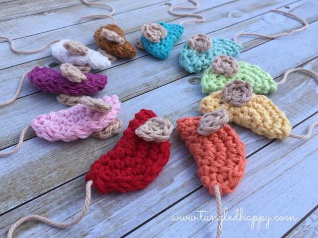 Crochet Mouse Diy Cat Toy Tangled Happy