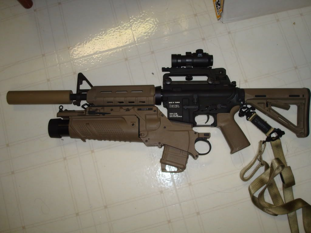 M4 With Grenade Launcher