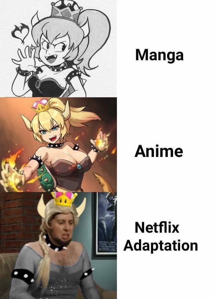 Netflix Adaptation Is Best Animmmmmmeeeeeee Pinterest Memes