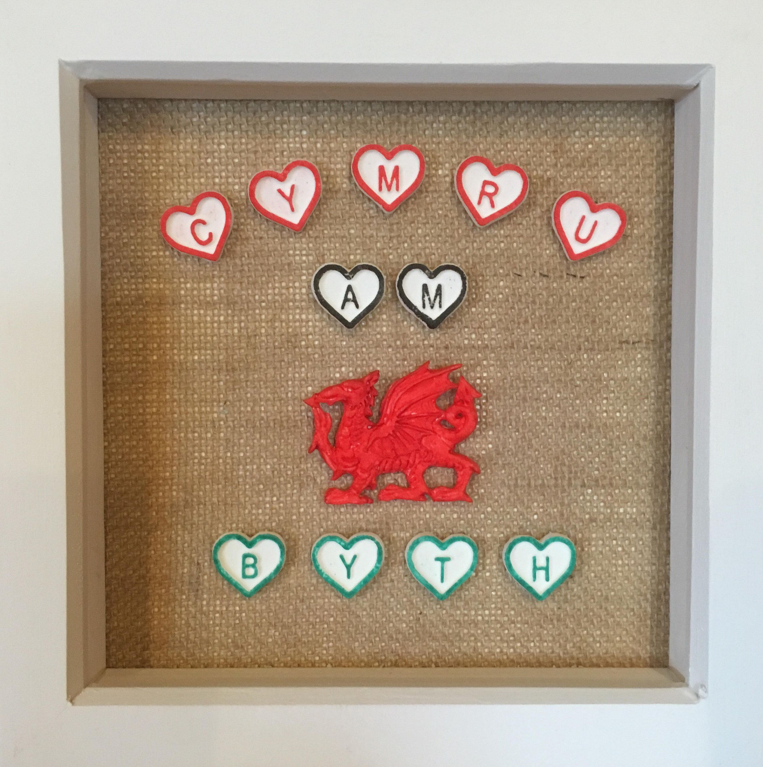 Excited to share the latest addition to my #etsy shop: Cymru Am Byth ...
