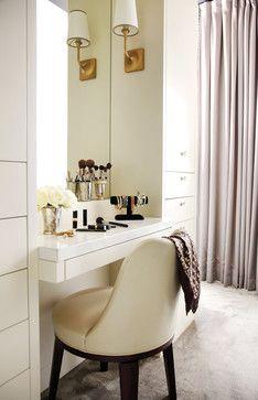 Makeup Vanity In Master Bedroom Design Ideas Pictures Remodel