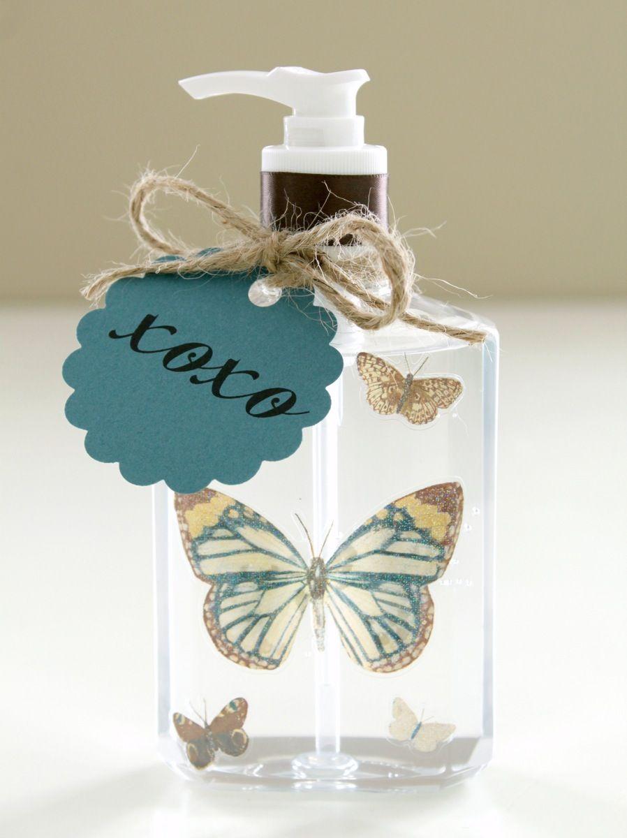 Monogrammed Soap Teacher Gift Easy Diy Gifts Diy Monogram