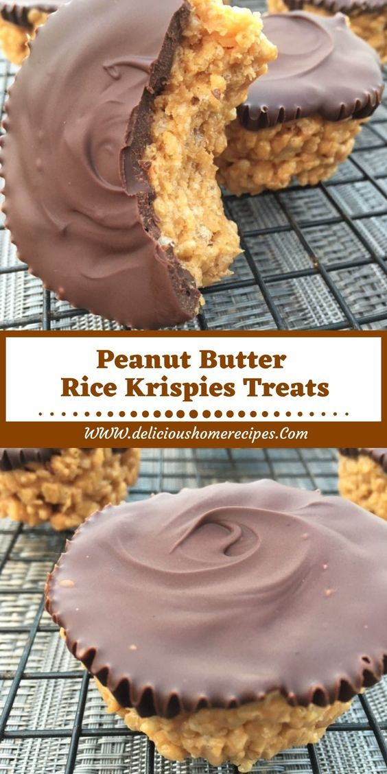 Peanut Butter Rice Krispies Treats #ricekrispiestreats
