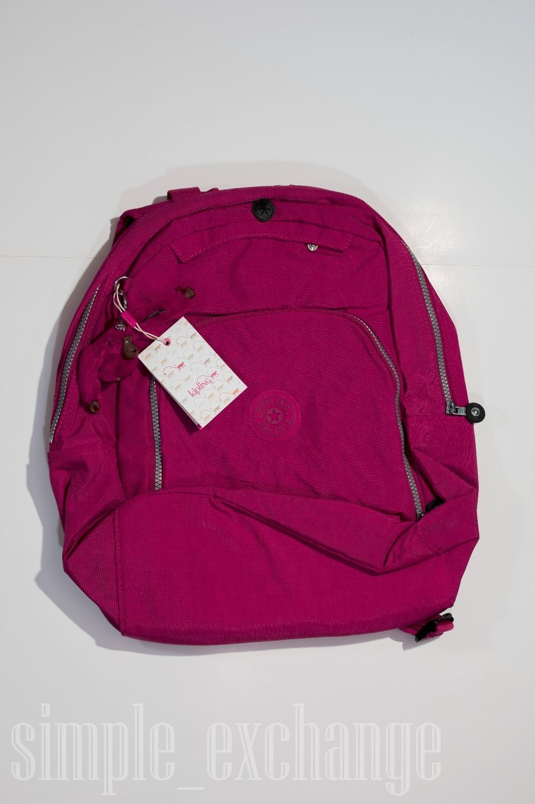 Kipling Medium Size Backpack for Small LaptopTablet Wered  Womenus