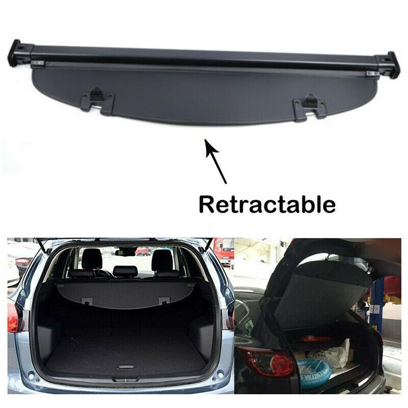 Used For Mazda Cx 5 2013 2016 Luggage Tonneau Cargo Cover Security Trunk Shielding 2020 Is In Stock And For Sale Mycarboard Com Cargo Cover Luggage Trunks