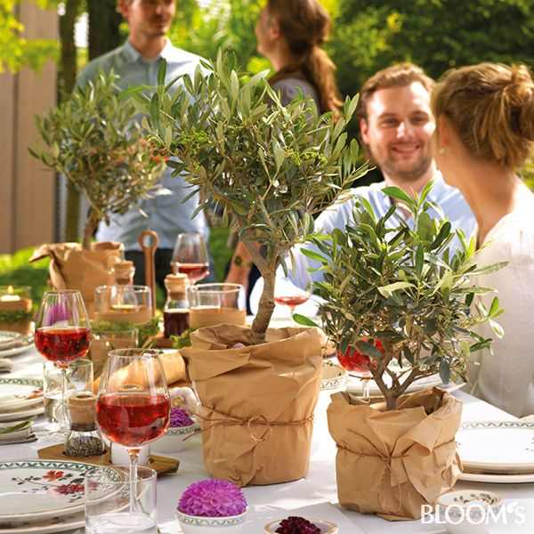 Perfekt Mediterrane Tischdeko Für Die Gartenparty Hochzeit Deko Tisch, Gartenparty  Deko, Italienische Party, Tischdeko