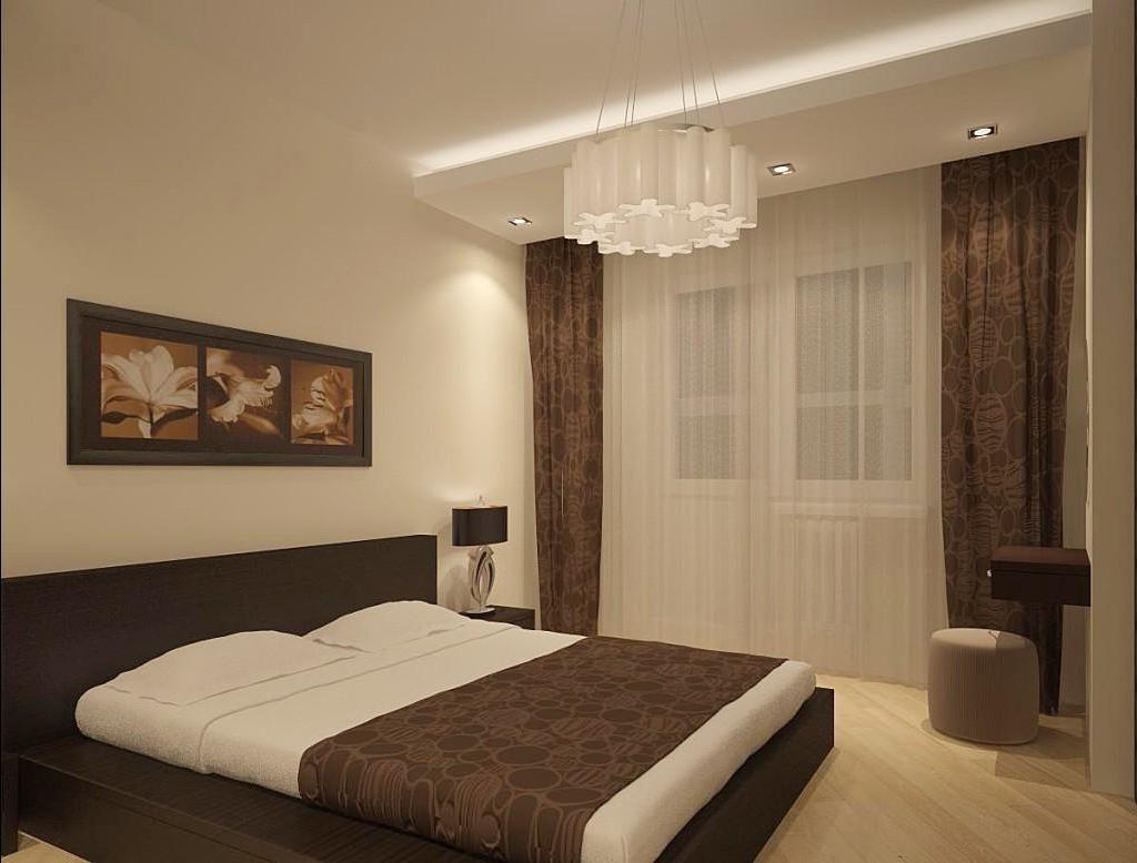 обои спальня дизайн фото