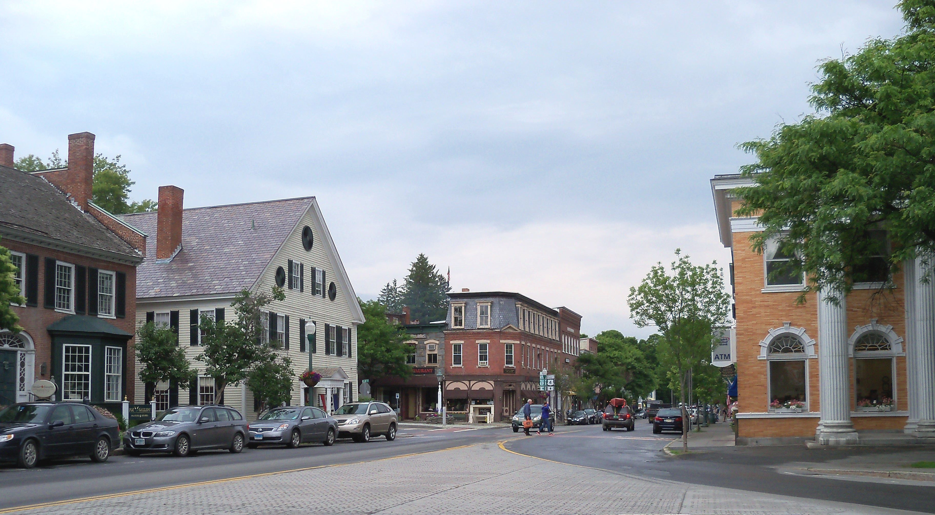 Image result for downtown woodstock vt | classic small town
