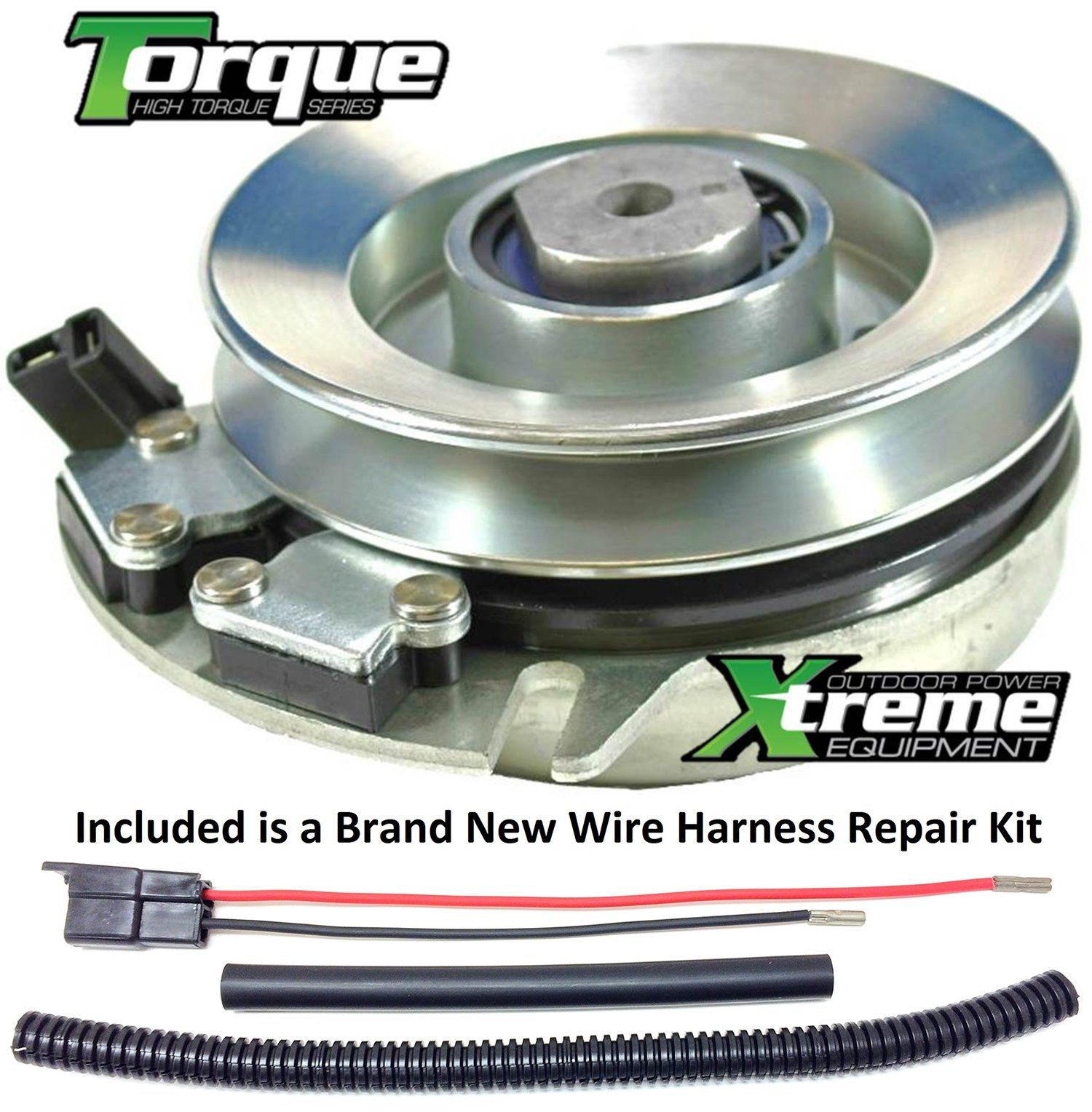 Bundle 2 items: PTO Electric Blade Clutch Wire Harness Repair Kit. Replaces  Simplicity PTO Clutch 1708536 Upgraded Bearings w/ Harness Repair Kit ** To  view ...