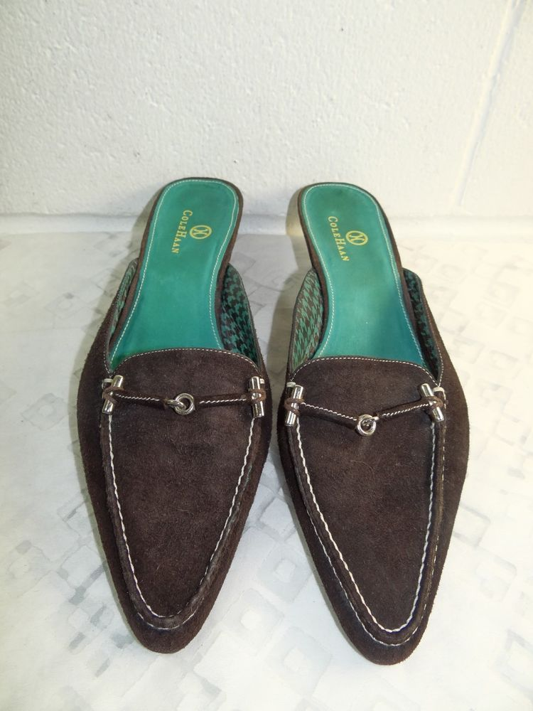 6654edcdc82 Cole Haan Brown Suede Slip On Slide Shoe Women Size 7.5B Made in Brazil   fashion  clothing  shoes  accessories  womensshoes  flats (ebay link)