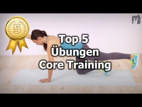 Top 5 Muskel Übungen für das Core Training: die Empfehlung von Prof. Froböse! - YouTube