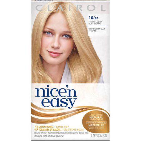 Beauty Neutral Blonde Permanent Hair Color Clairol Hair Color