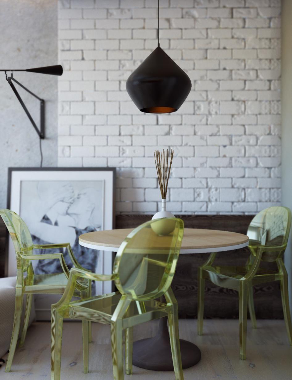Небольшая квартира в Одессе - Галерея 3ddd.ru