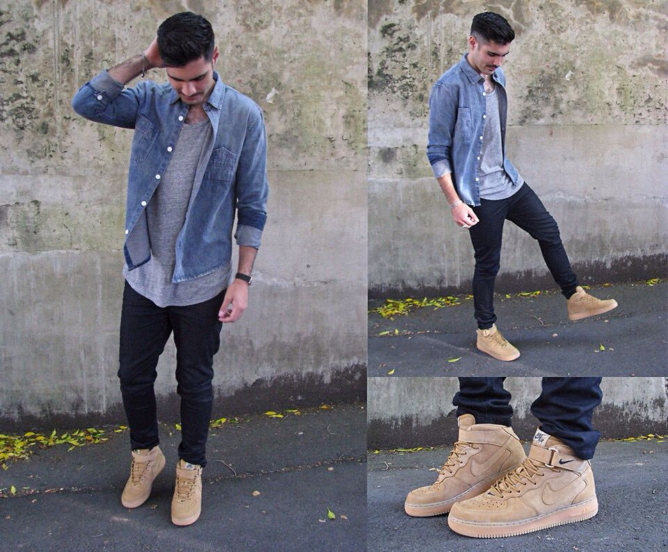 nike air force 1 outfit hombre