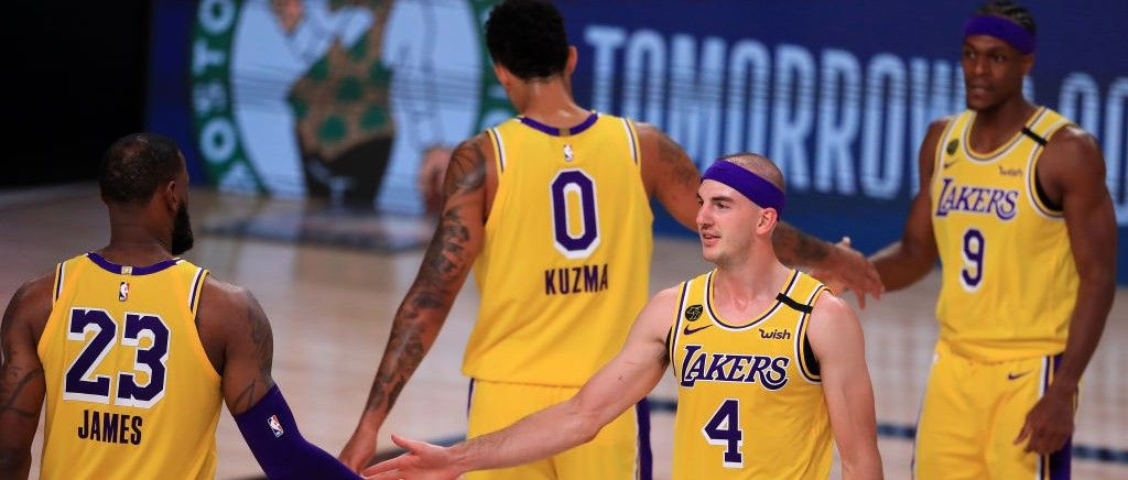 Three Takeaways As The Lakers Took Full Control With A Game 4 Win Over The Rockets Getty Image The Los Angeles Lakers Dominated T In 2020 Lakers Game 4 Markieff Morris