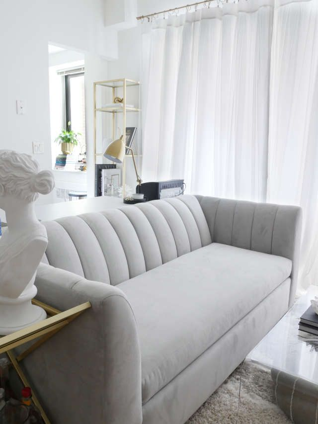 A Small Studio Is a Minimal, Chic Retreat | Sofas for ...