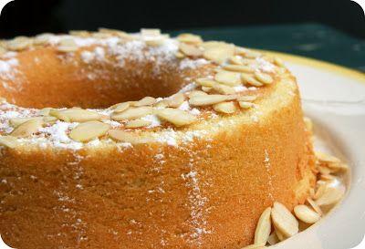 Gâteau à l'amande de l'Algarve