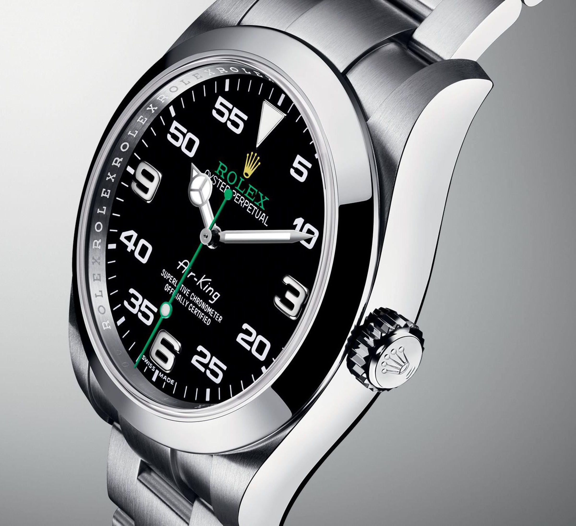 Rolex's AirKing returns with an allnew look Rolex air