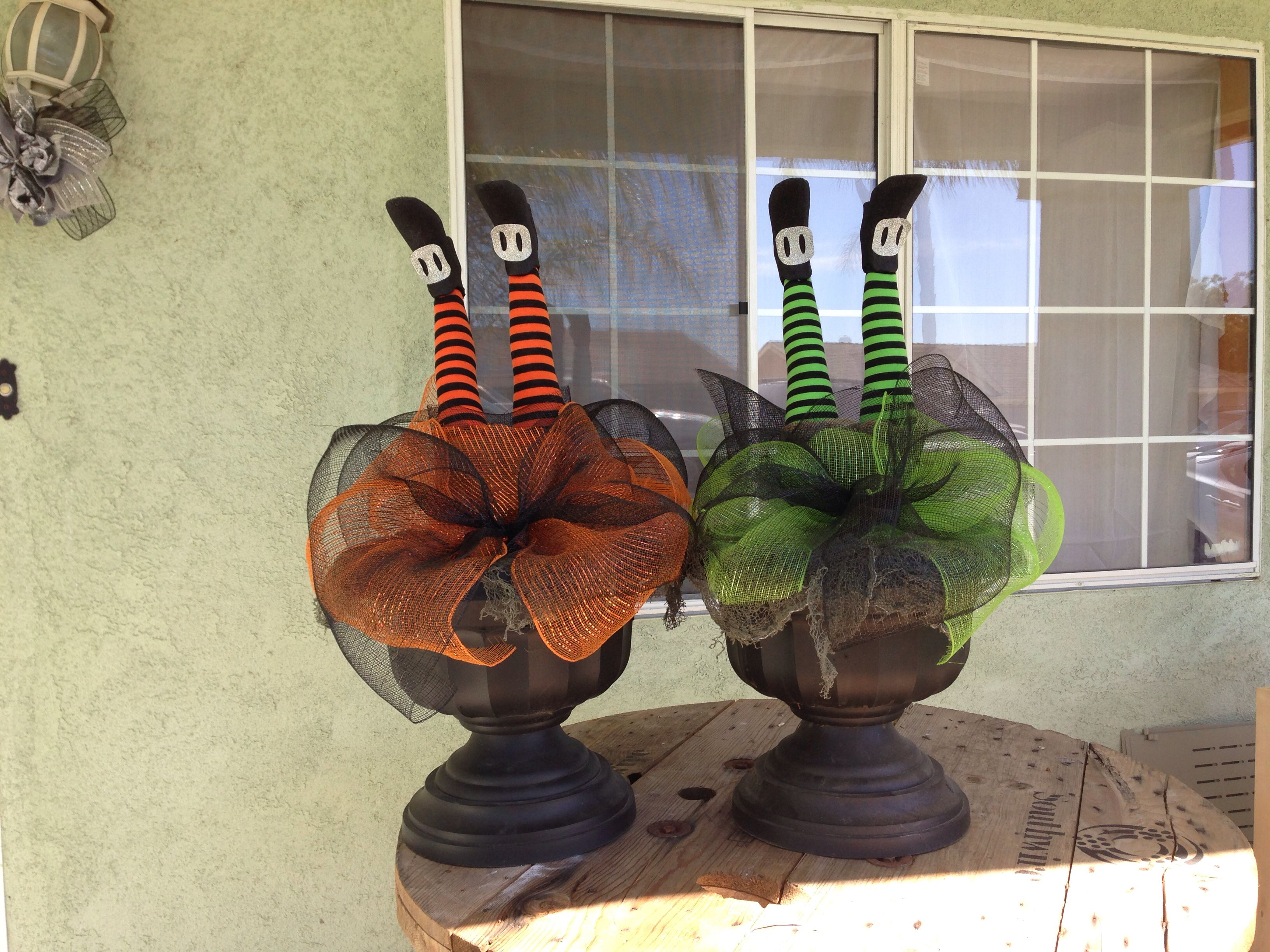 My witch Halloween decorations this year 2014