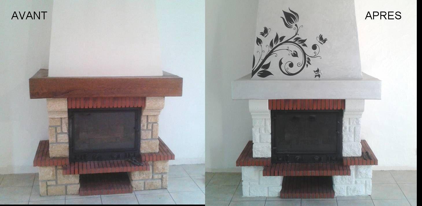 r sultat de recherche d 39 images pour chemin e renovation. Black Bedroom Furniture Sets. Home Design Ideas