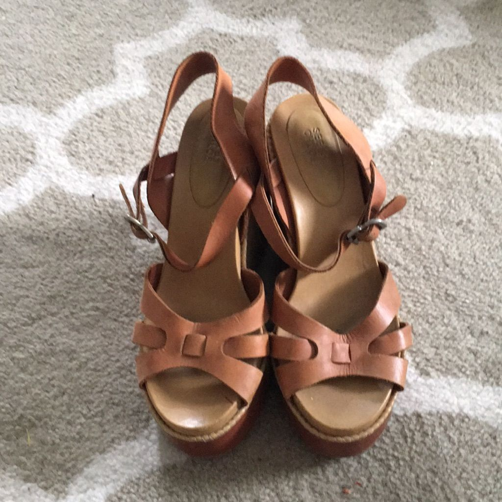 See By Chloe Shoes | See By Chloe Wedges | Color: Tan/Brown | Size: 7.5 #seebychloe