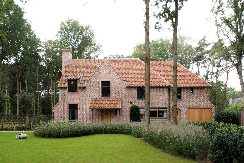 Landelijke woning met eiken garagegebouw sels be belgium