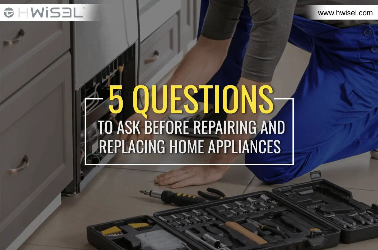 5 questions to ask before repairing and replacing home