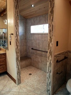 Showers Without Doors Design Ideas Pictures Remodel And
