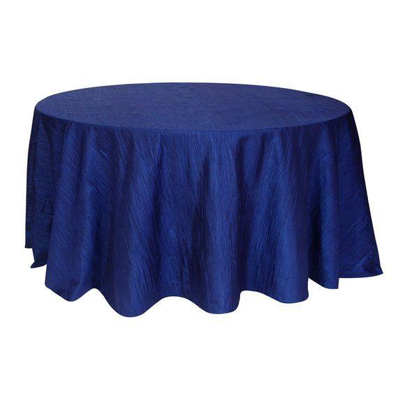 Tissu De Pintuck Rond Bleu Marine De 120 Pouces Fr Vente En Gros