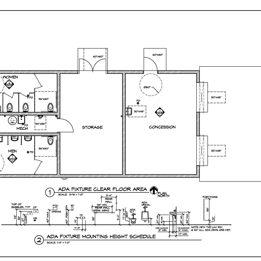 ada public bathroom dimensions | bathroom ideas | pinterest