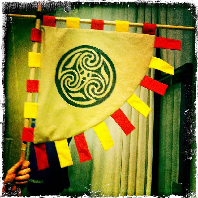 Viking Banner by donnamatrix, via Flickr   Vikings   Pinterest ...
