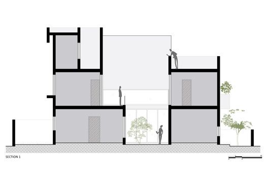 Gallery of House Within Arch Lab 23