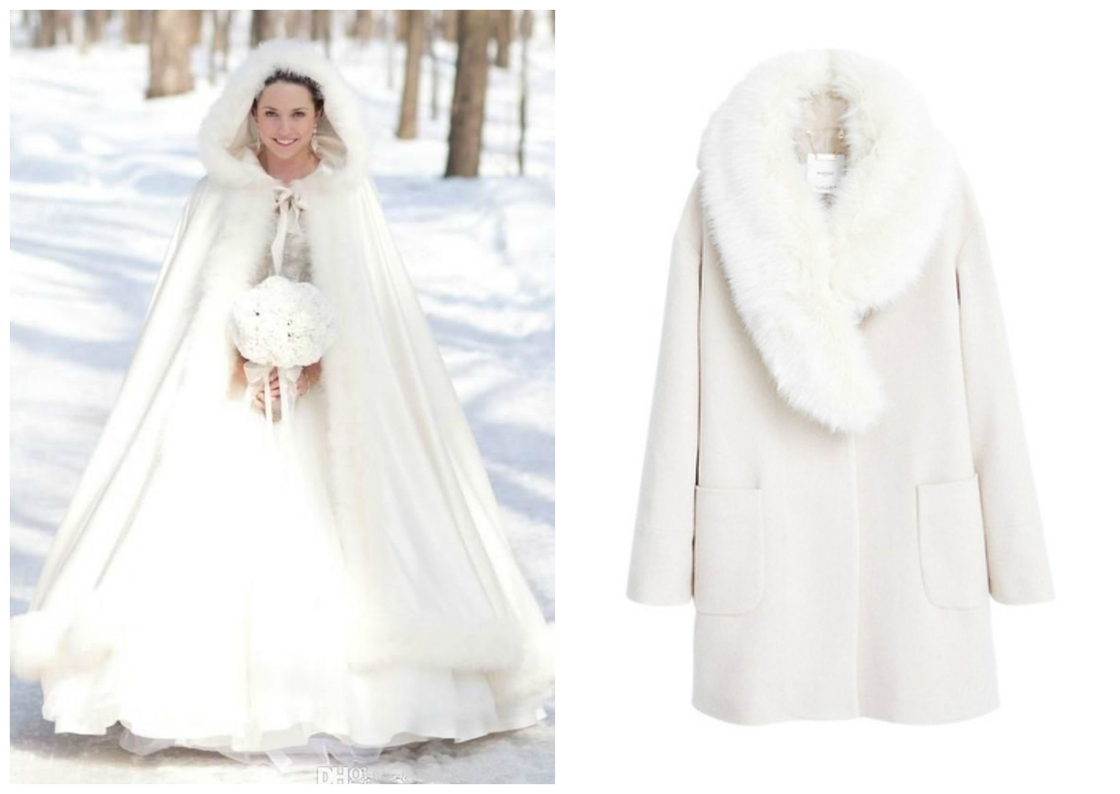 Manteau pour robe de mariee hiver les robes sont populaires partout dans le monde - Manteau mariage hiver ...