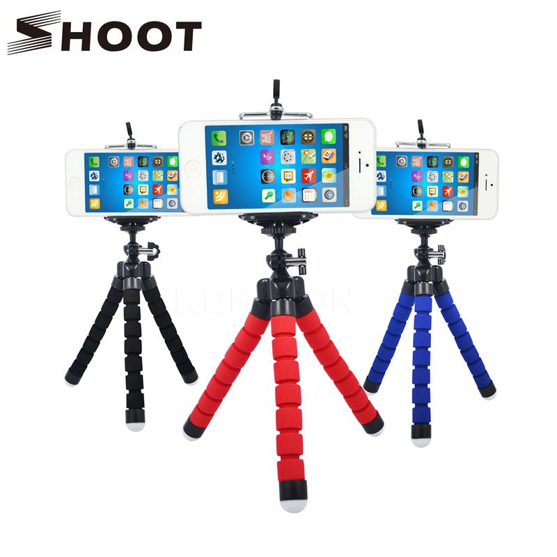 In Wrumava Flexible Octopus Leg Phone Holder For Iphone X 8 7 Plus Flexible Tripod Bracket Selfie Stand Mount For Huawei Smartphone Excellent Quality