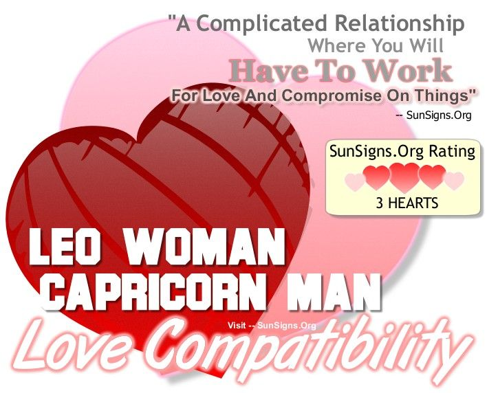 Scorpio woman dating capricorn man