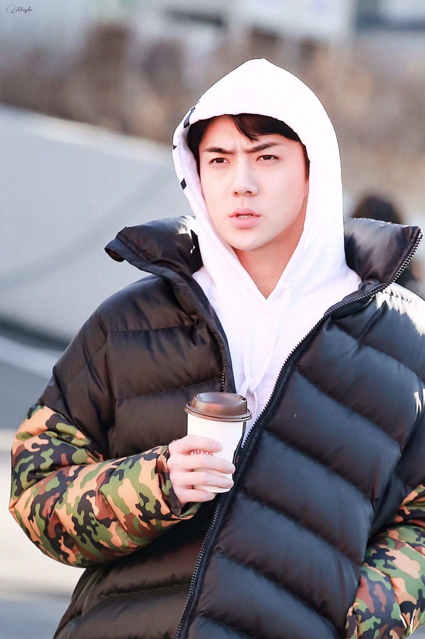 Oh Sehun Pics On Twitter Sehun Pics Winter Jackets