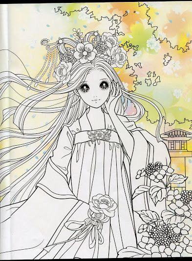 Princess Coloring Book 2 | disegni 16 | Pinterest | Plantillas para ...