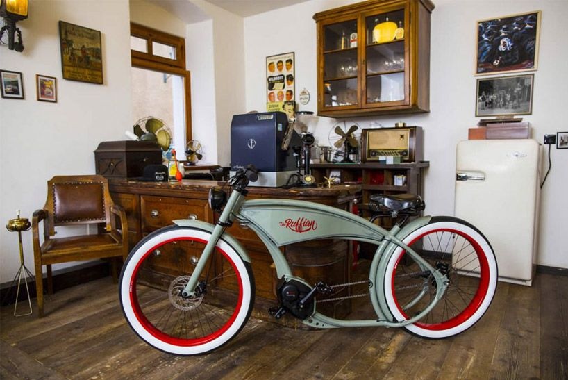 Ruff Cycles Ruffian Electric Bike Echoes Motorcycle Style From