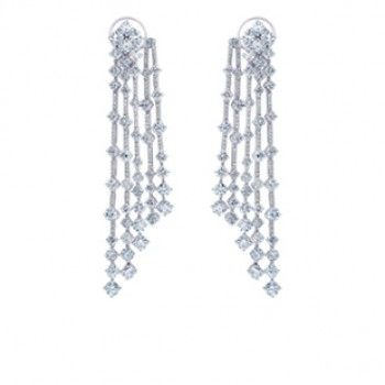Arpeggia Five-Line Earrings