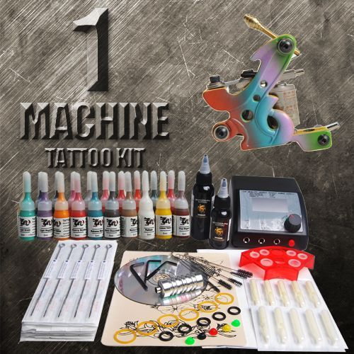 1 Machine Tattoo Kit