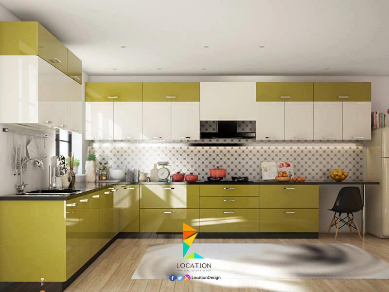صور مطابخ مودرن 2017 2018 بافكار جديدة تجعلها اكثر اتساعا لوكشين ديزين نت Kitchen Modular Kitchen Room Design New Kitchen Cabinets