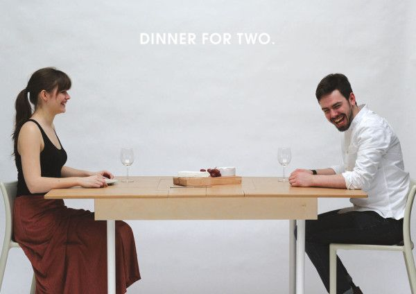 A Working Desk For Two A Dining Table For Six Desk For Two