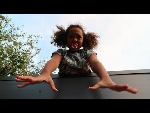 bad baby tiana climbs on roof babysitter jordon gets revenge youtube youtube babysitter super mario plush bad baby tiana climbs on roof